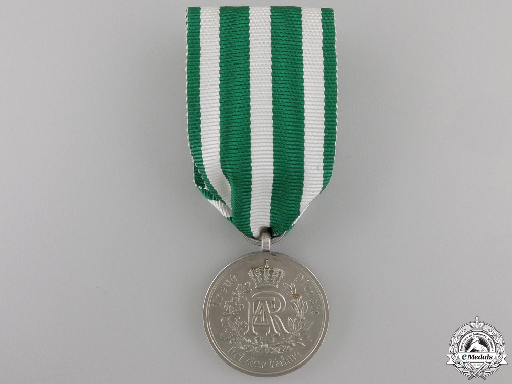 eMedals-A Saxon Military Long Service Medal; 3rd Class for Nine Years' Service