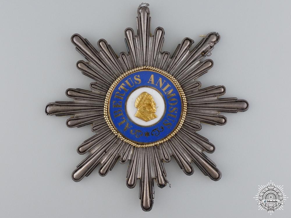 eMedals-A Saxon Order of Albert; Grand Cross Star in Bullion