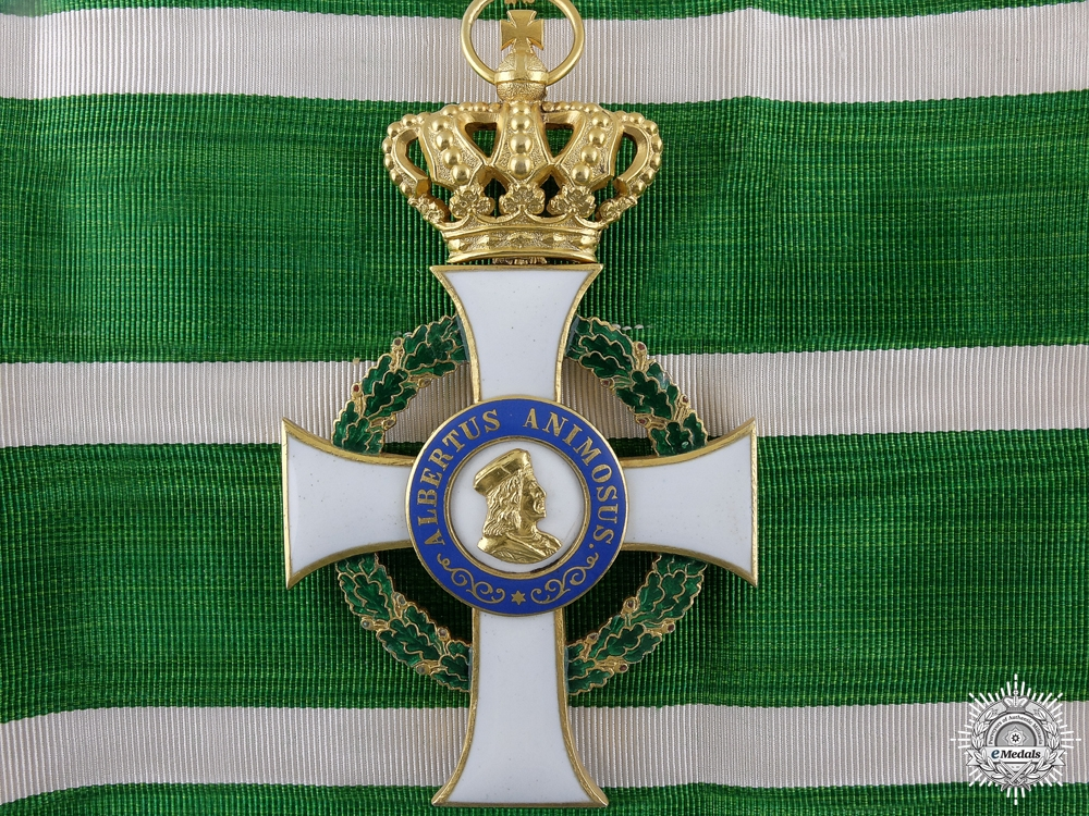 eMedals-A Saxon Order of Albert; Commander's Cross