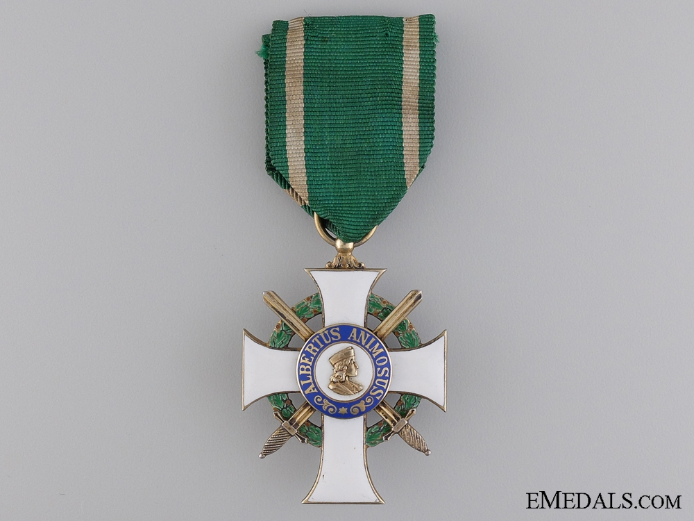 eMedals-A Saxony Order of Albert with Swords; Knight First Class
