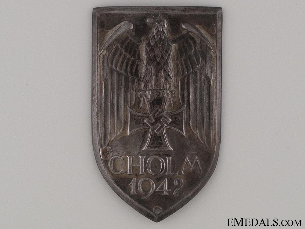 eMedals-A Scarce Cholm Shield
