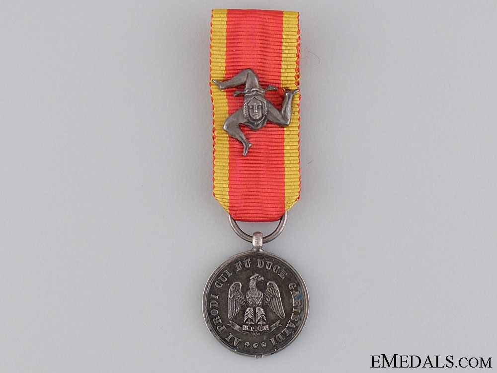 eMedals-A Scarce Duke Galibaldi Medal for One Thousand Volunteers