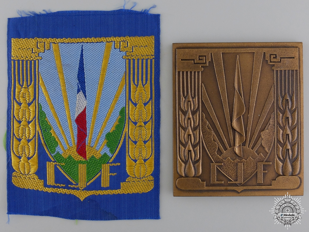 eMedals-A French Vichy State CJF Pair