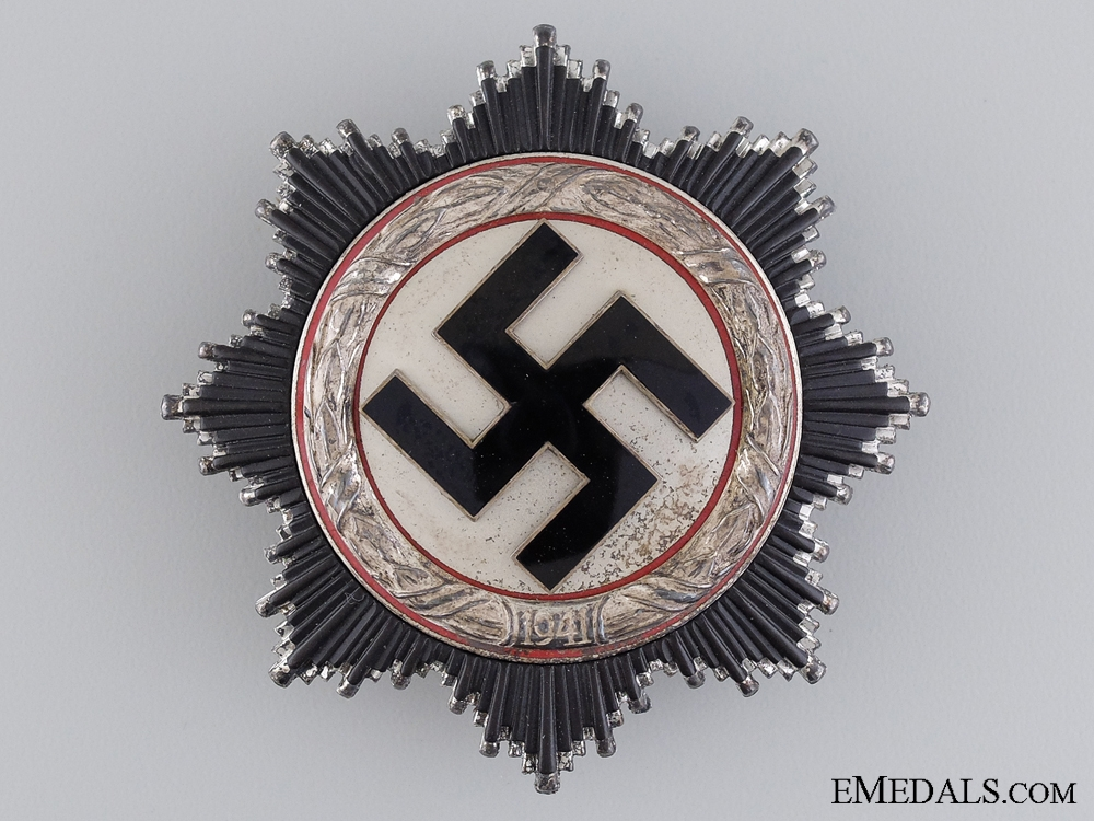 eMedals-A Scarce German Cross in Silver by Zimmermann