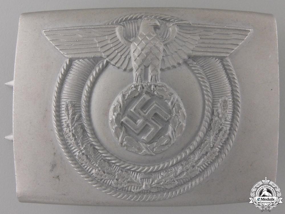 eMedals-A Scarce SA Wehrmannschaft Belt Buckle by Christian Theodor Dicke