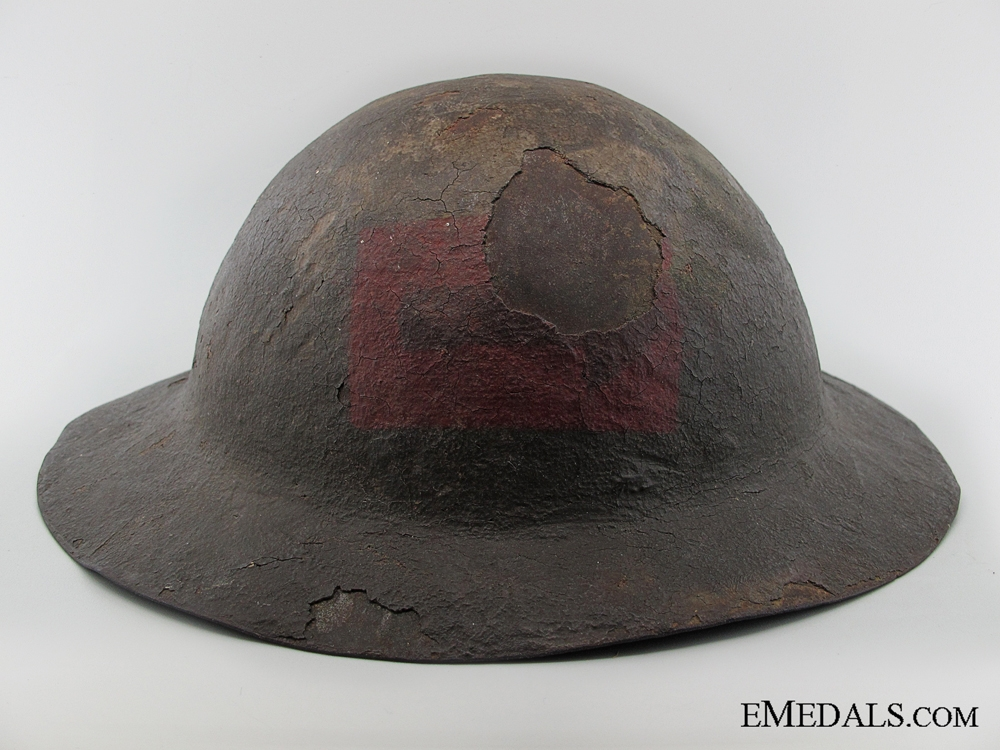 eMedals-A Scarce WWI 1st Type Canadian Helmet