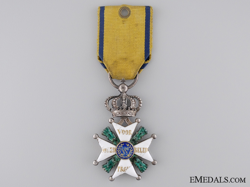 eMedals-A Scare & Early Military Order of William; Knights Cross c.1850