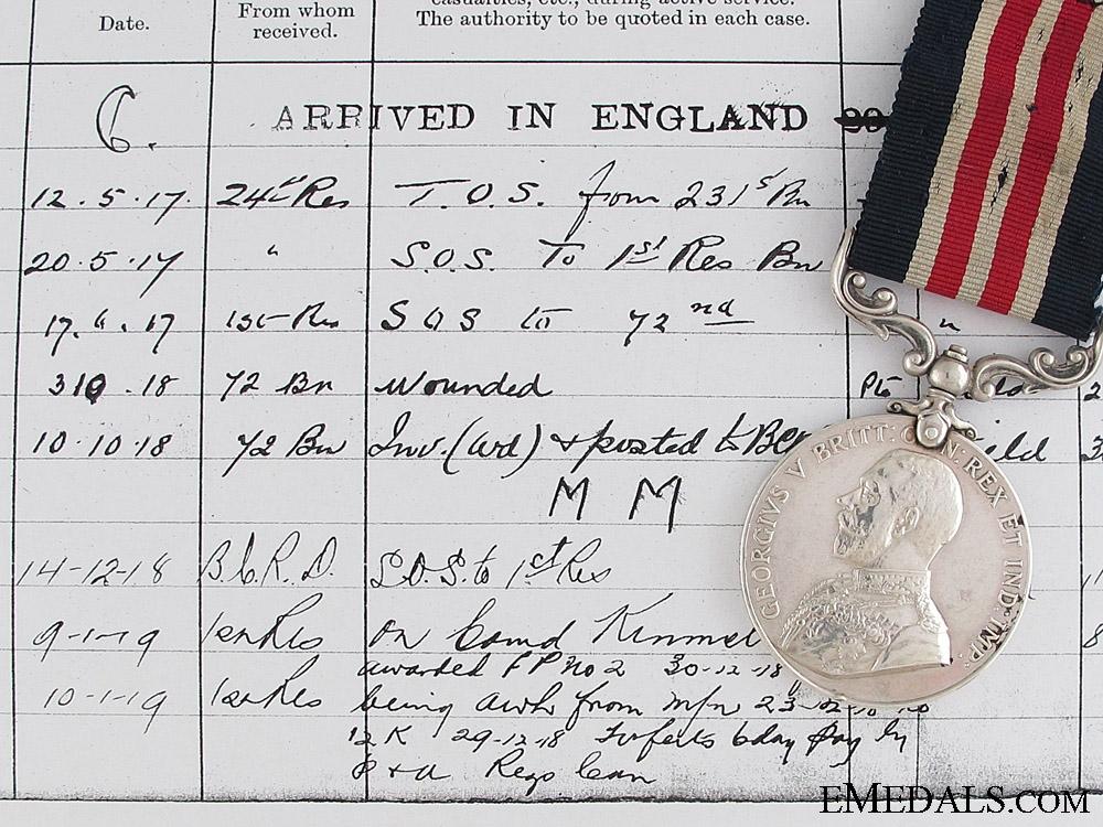 eMedals-A Seaforth Highlanders M.M. at Arras-Scarpe