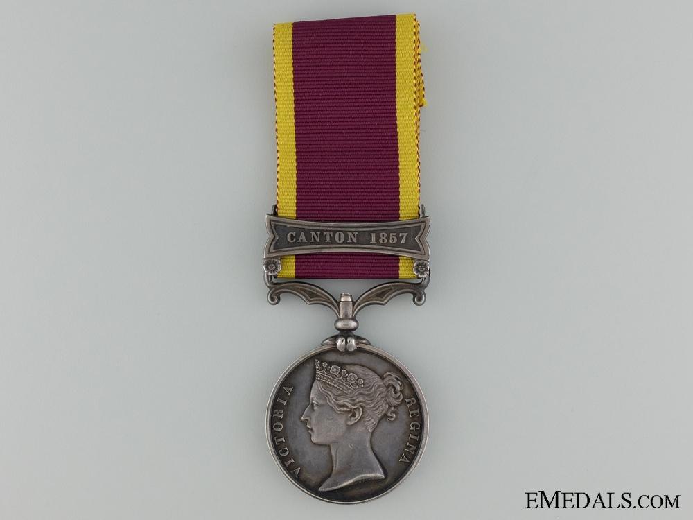eMedals-A Second China War Medal 1857-1860