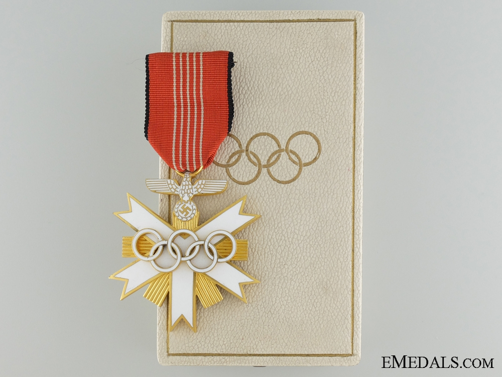 eMedals-A Second Class German Olympic Merit Cross