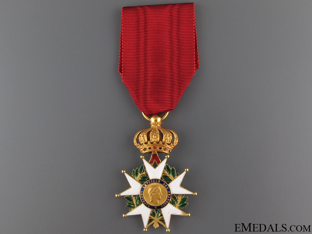 eMedals-A Second Empire Legion D'Honneur in Gold