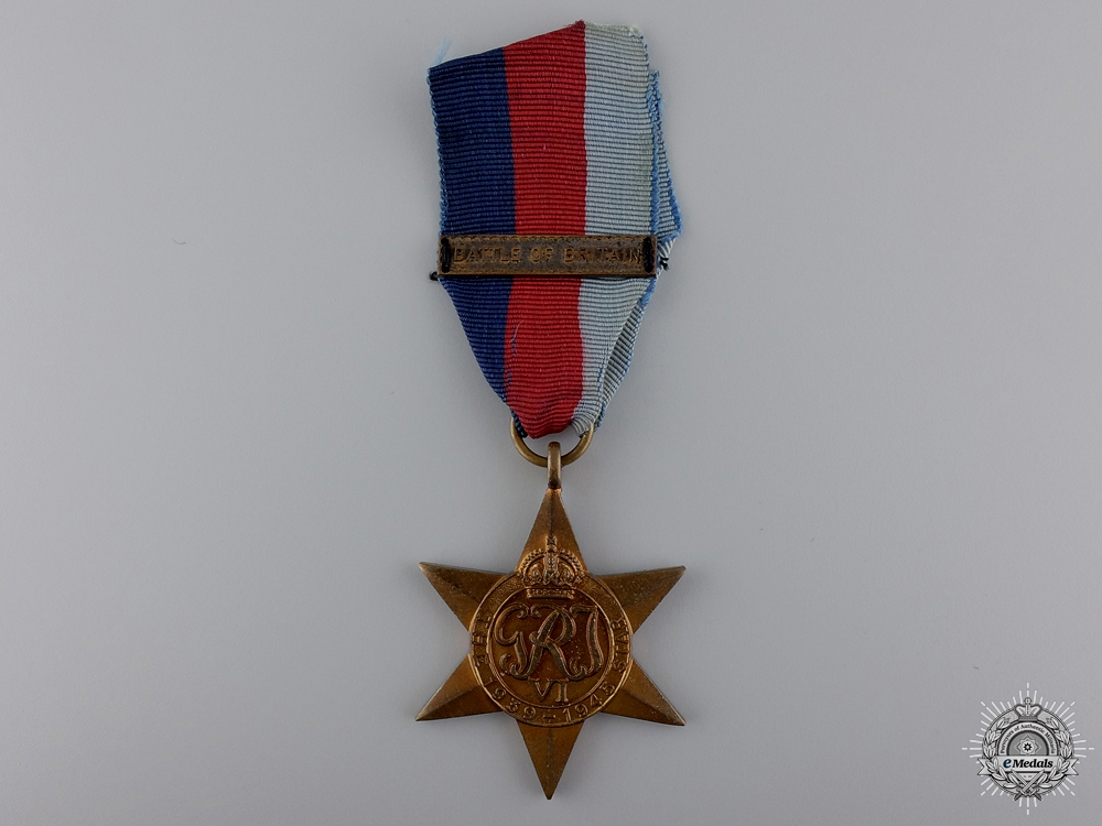 eMedals-A Second War 1939-1945 Star with Battle of Britain Clasp