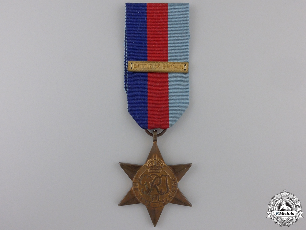 eMedals-A Second War 1939-1945 Campaign Star with Clasp