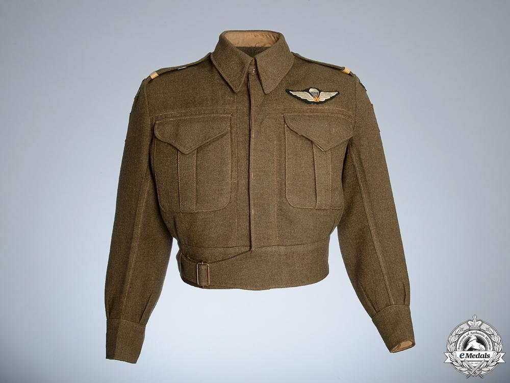 eMedals-A Second War 1st Canadian Parachute Battalion Battledress