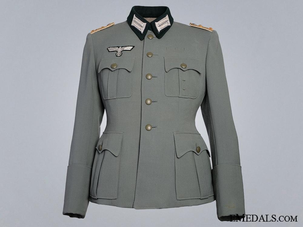 eMedals-A Second War 25th Jäger Regiment Hauptmann's Dress Tunic  Consign: 6