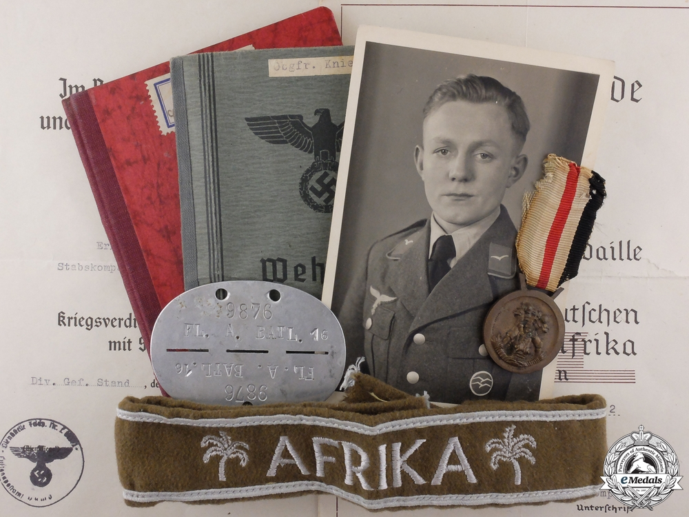 eMedals-A Second War 27th Fighter Wing Afrika Korps Grouping