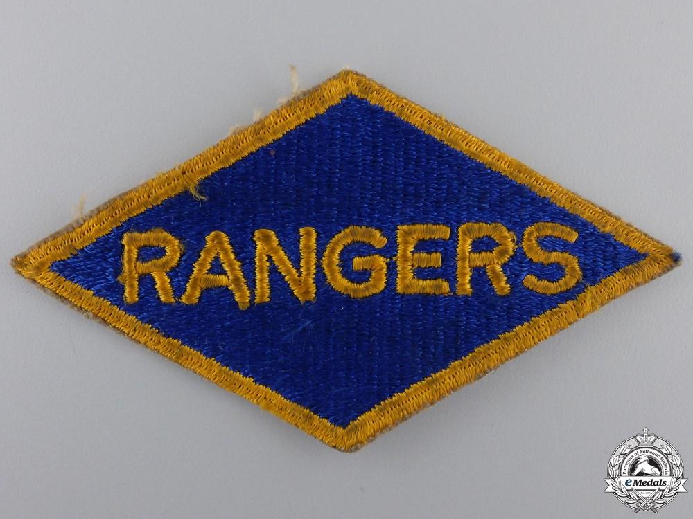 eMedals-A Second War 5th Ranger Battalion Shoulder Flash; D-Day