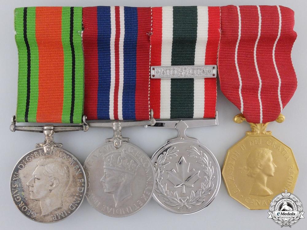 eMedals-A Second War & Nato Canadian Medal Bar