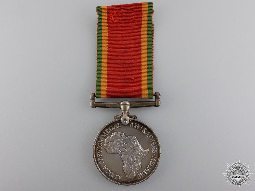 eMedals-A Second war Africa Service Medal
