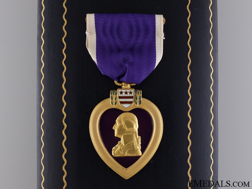 eMedals-A Second War American Purple Heart; Numbered