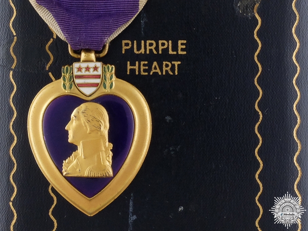 eMedals-A Second War American Purple Heart to George W. Schoenwald