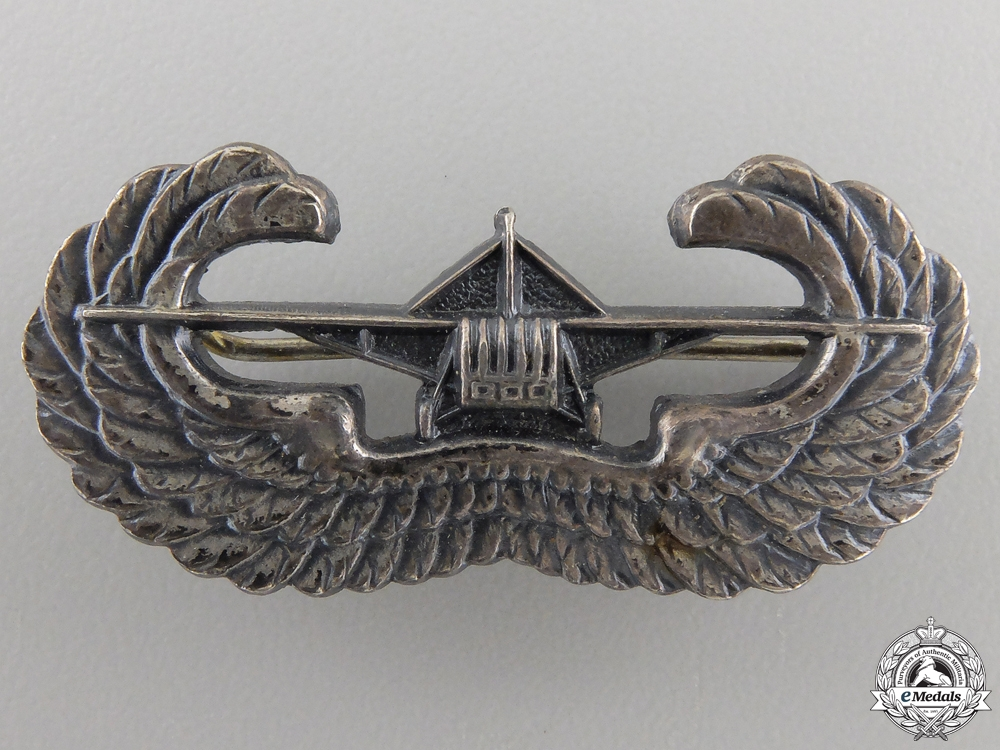eMedals-A Second War American Gliderborne Badge by Gaunt