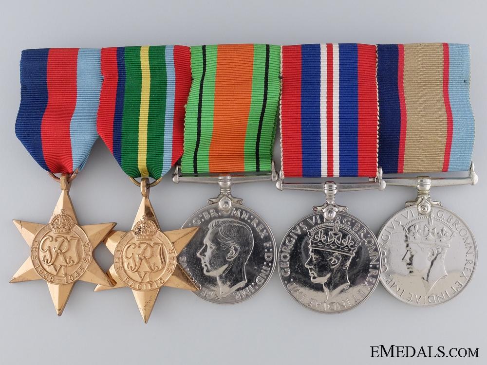 eMedals-A Second War Australian Medal Group to J. Dub Scammell