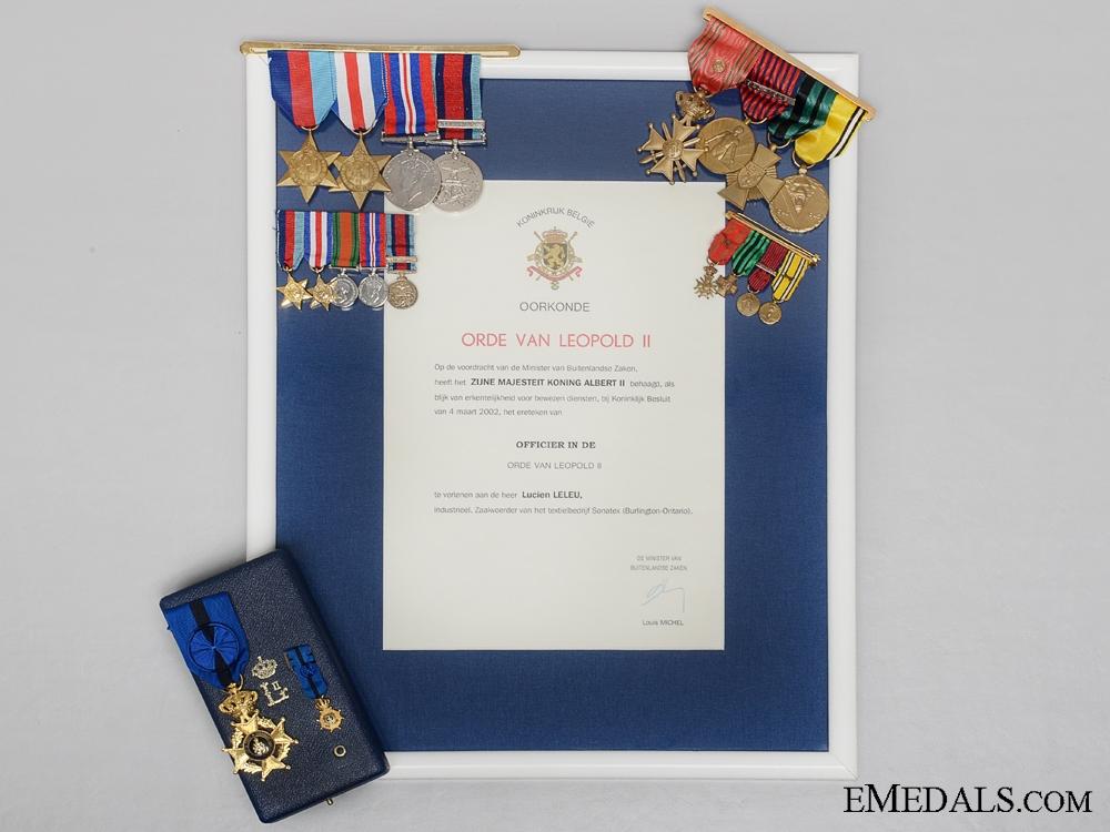 eMedals-A Belgian Second War Normandy Veterans Group
