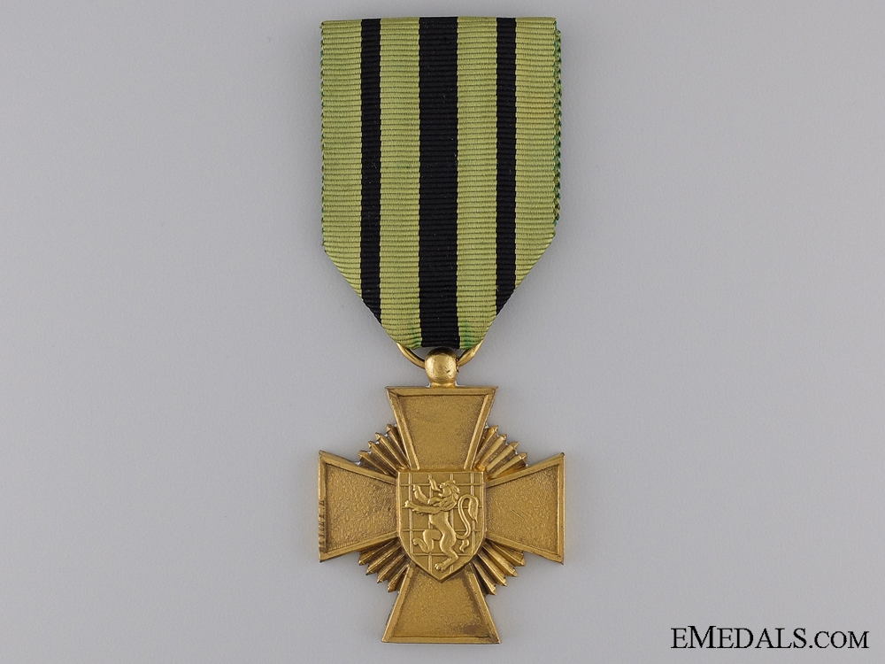 eMedals-A Second War Belgian Prisoner Escapees' Cross
