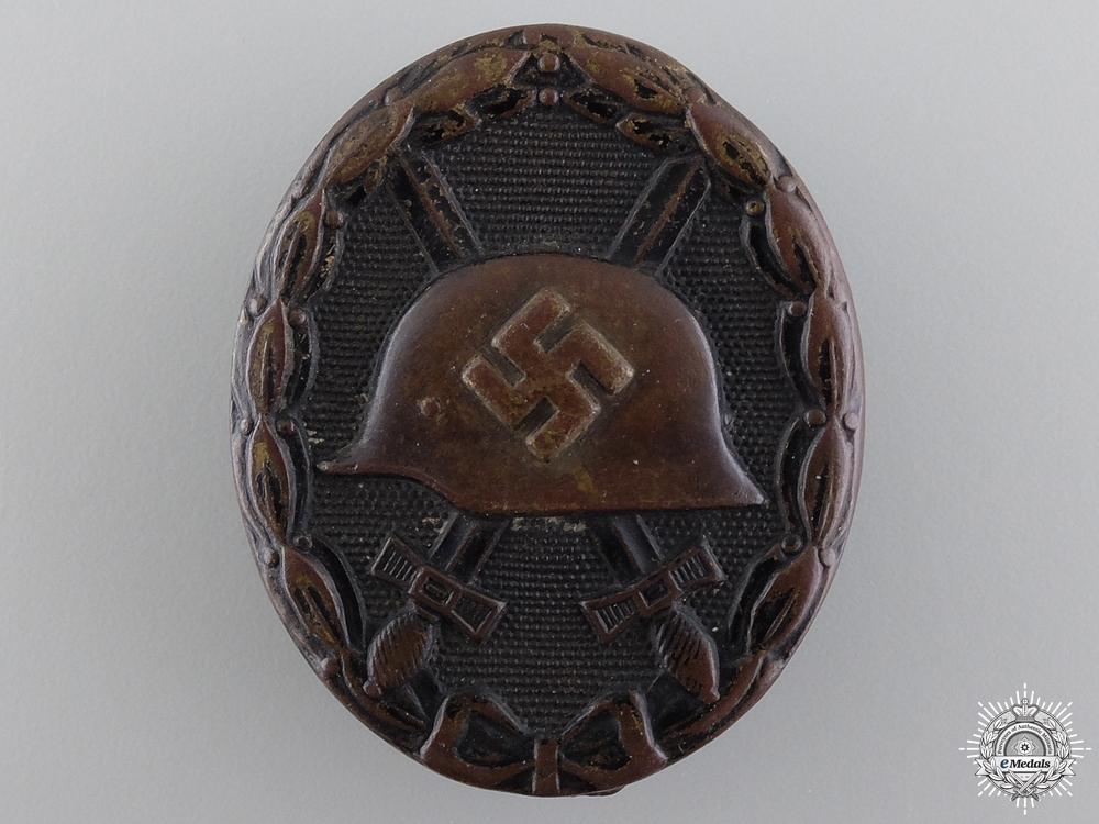 eMedals-A Second War Black Grade Wound Badge
