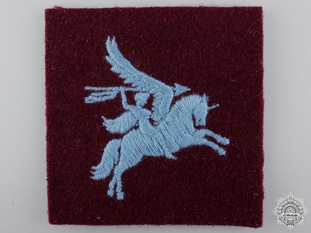 eMedals-A Second War British Airborne Division Patch  Consignment 22