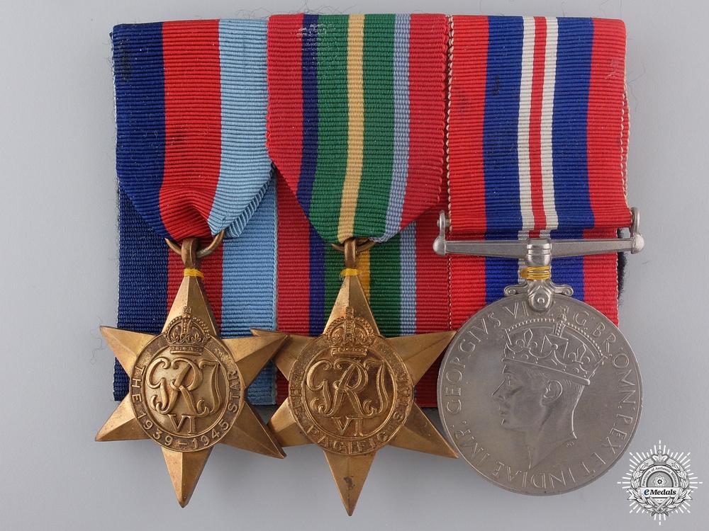 eMedals-A Second War British Pacific Theatre Medal Bar
