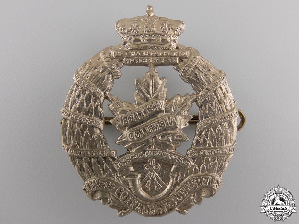 eMedals-A Second War British Columbia Regiment  Cap Badge