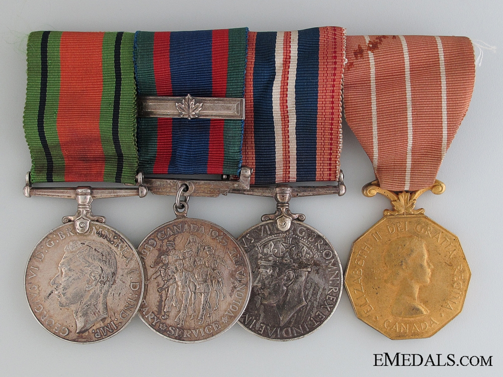 eMedals-A Second War Canadian Forces Group