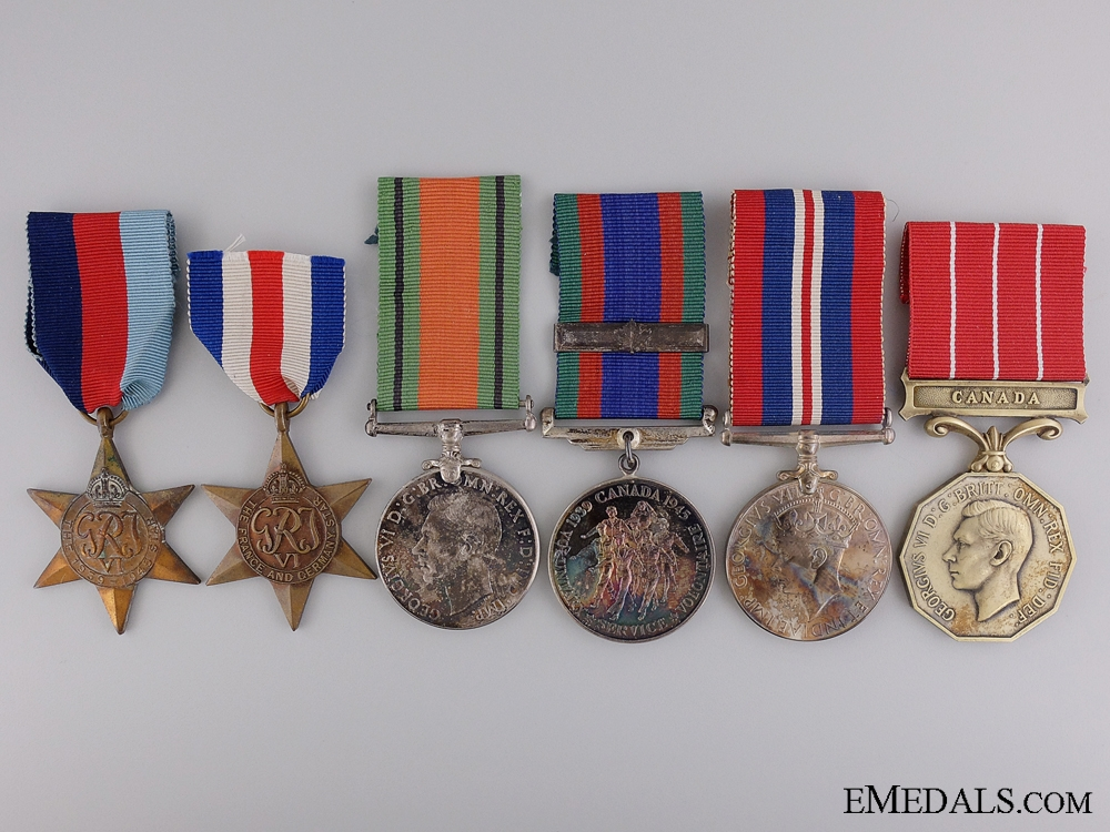 eMedals-A Second War Canadian Group to Major K.M. McIntosh