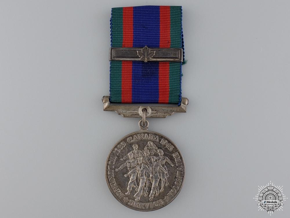 eMedals-A Second War Canadian Volunteer Service Medal