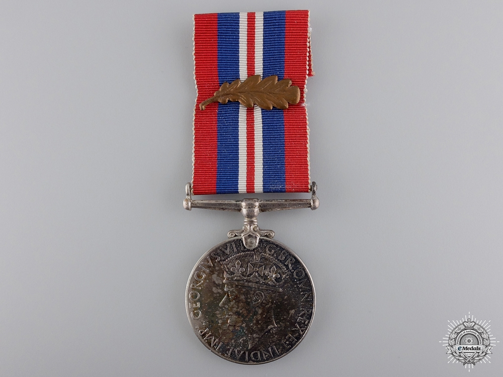 eMedals-A Second War Canadian Issue War Medal with MID