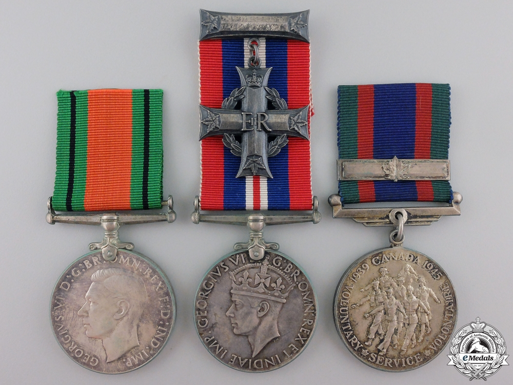 eMedals-A Second War Canadian Memorial Group to the RCEME