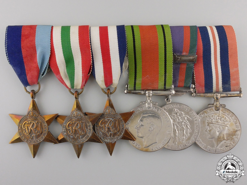 eMedals-A Second War Canadian Medal Group