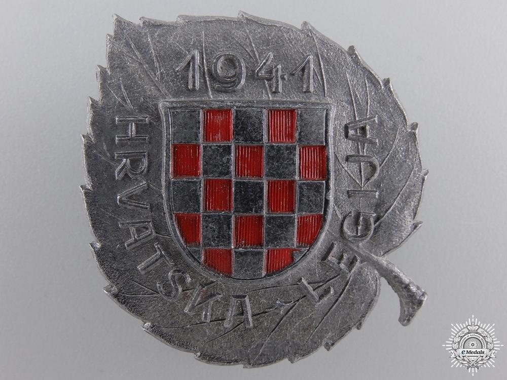 eMedals-A Second War Croatian Legion Award