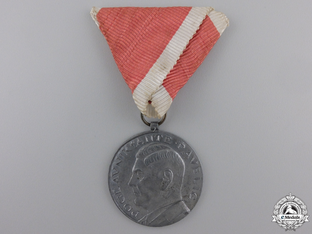 eMedals-A Second War Croatian Bravery Award