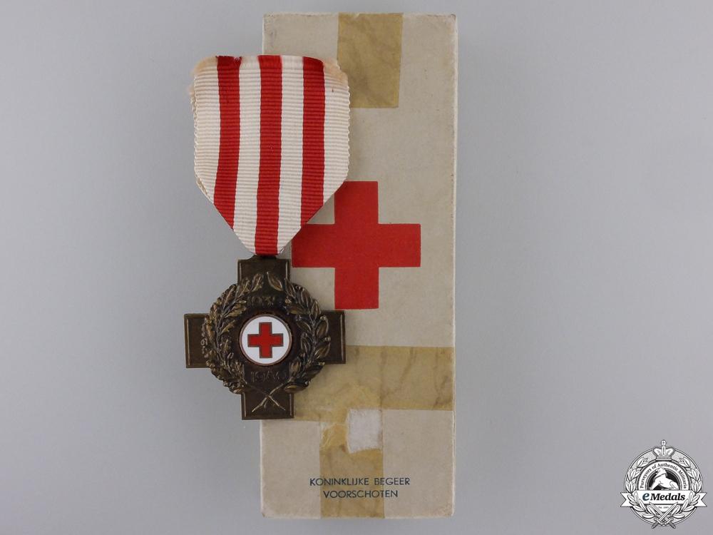 eMedals-A Second War Cross of the Netherlands Red Cross 1939-1940