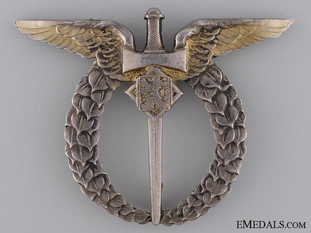 eMedals-A Second War Czechoslovakian Pilot Badge by Provaznik, Praque