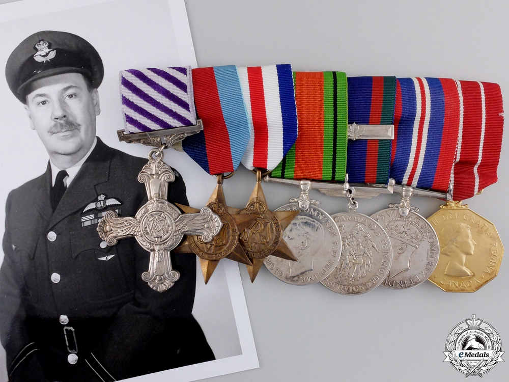 eMedals-A Second War Distinguished Flying Cross Group to 433 Squadron