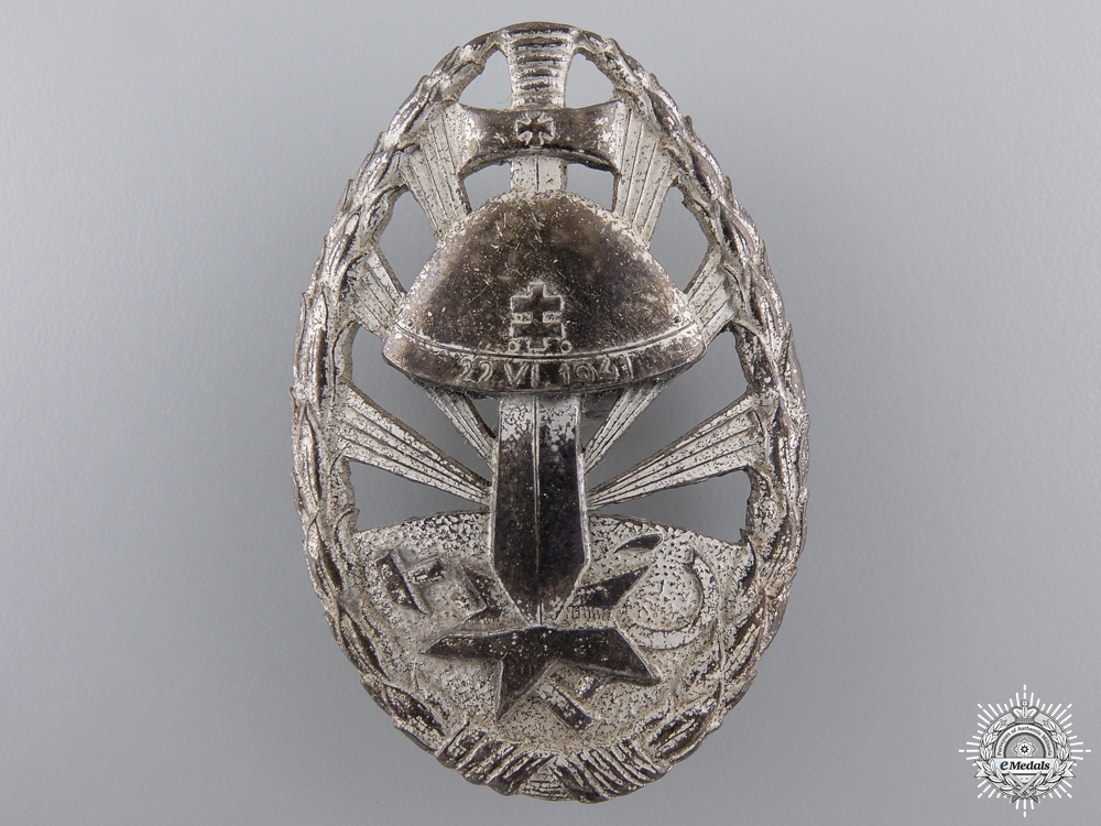 eMedals-A Second War Eastern Front Service Badge of Honour