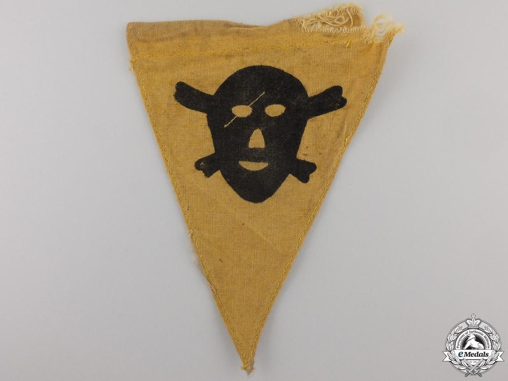 eMedals-A Second War German Mine Warning Pennant