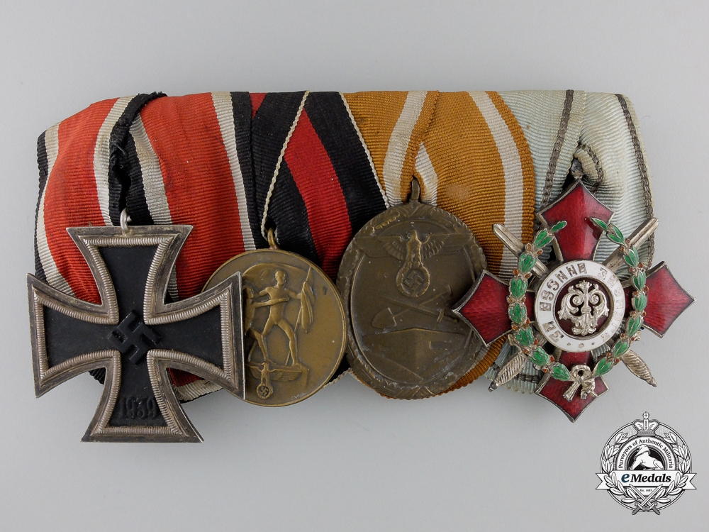 eMedals-A Second War German Medal with Bulgarian Merit Order