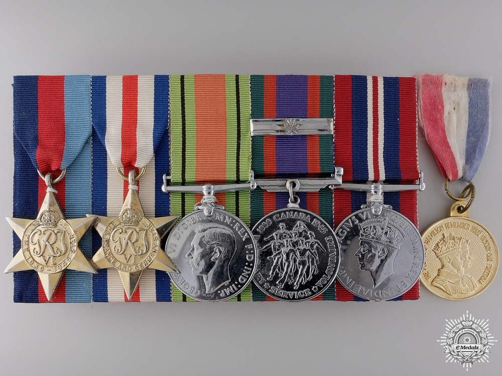 eMedals-A Second War Group to the Royal Canadian Army Service Corps