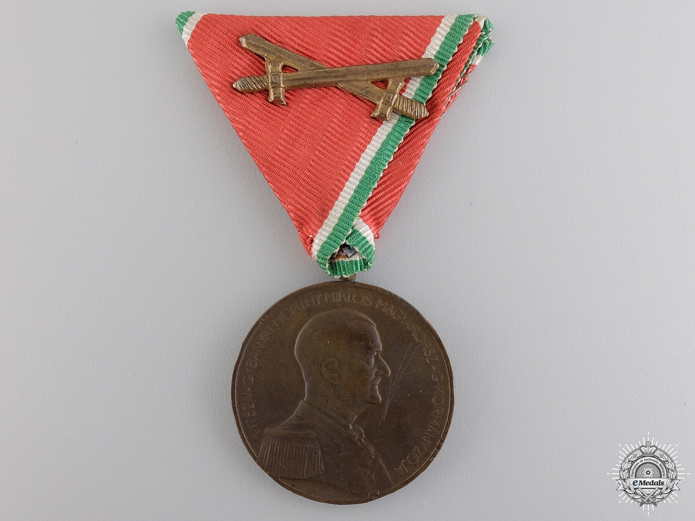 eMedals-A Second War Hungarian Bravery Meda