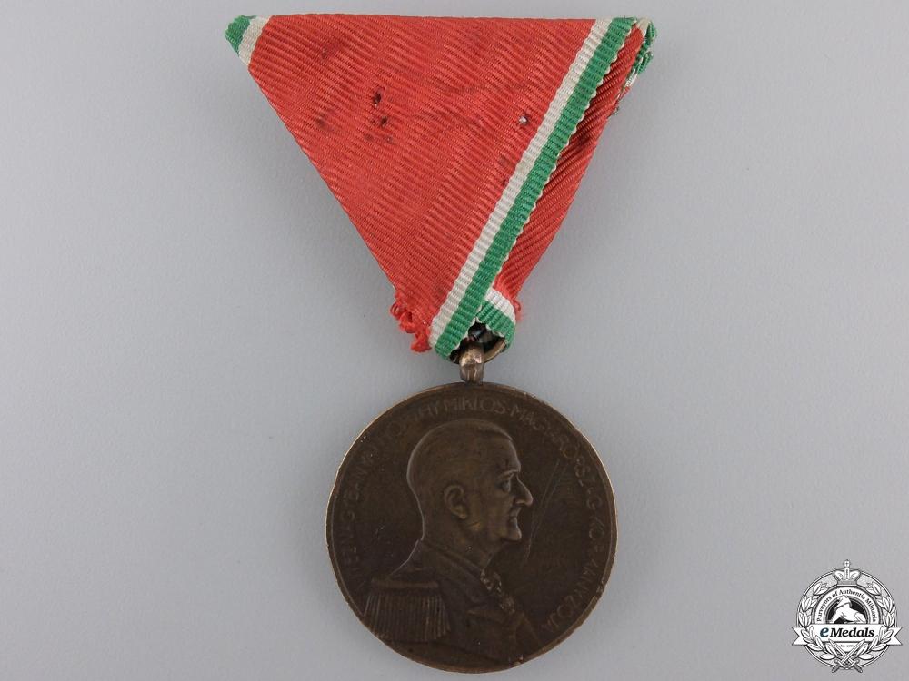 eMedals-A Second War Hungarian Bravery Medal; Bronze Grade